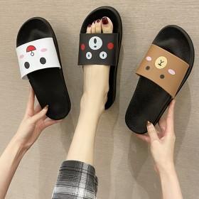 卡通拖鞋女夏外穿韩版新款厚底时尚拖鞋防滑室内居家家
