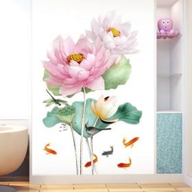 花朵墙贴画墙面装饰贴纸