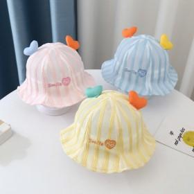 婴儿帽子夏季薄款宝宝帽