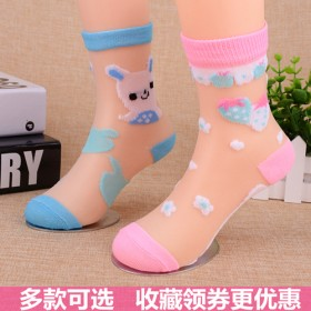 春夏儿童袜子女童袜男童棉袜小孩宝宝婴儿学生网眼袜子