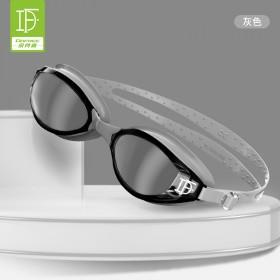 朵梵林泳镜男防水防雾高清专业游泳眼镜舒适大框成人游