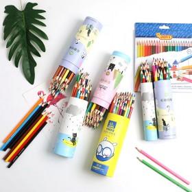 12色】彩色铅笔12/24专业彩铅美术绘画彩铅笔