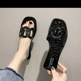 防滑耐磨百搭网红凉拖鞋