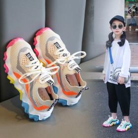 童鞋儿童飞织网鞋透气椰子鞋男童运动鞋女童休闲鞋子