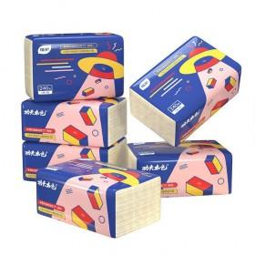 10包植护抽纸卫生纸餐巾纸厕纸吸水无香实惠装饭店家