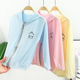 儿童冰丝防晒衣夏季童装男女童防风服透气新款宝宝外套