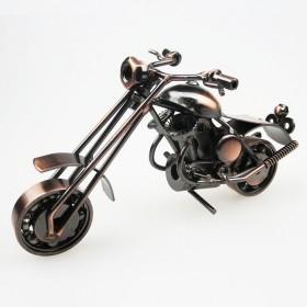 小号铁艺摩托车纯手工模型