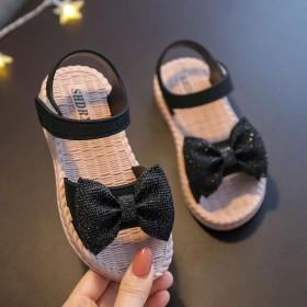 女童鞋夏季新款时装韩版中大儿童休闲平软底公主鞋百搭