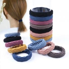 韩版网红加粗耐用头绳百搭无接缝发圈扎头发橡皮筋