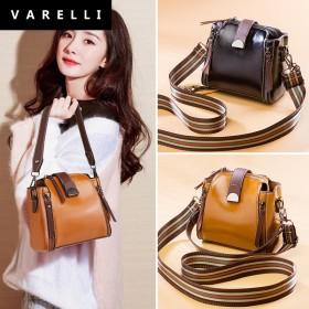 新款VARELLI2021ins小包包潮时尚水桶包