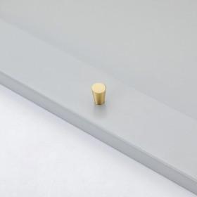 轻奢黄铜橱柜抽屉拉手现代简约纯铜金色柜子衣柜门把手