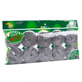 20个装家用清洁球洗锅刷碗不锈钢不生锈不掉渣钢丝球