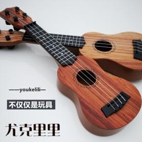 儿童小吉他它玩具可弹奏仿真尤克里里