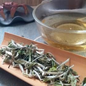 2021特级明前白牡丹王冰甜治嘴叼花香500克散茶