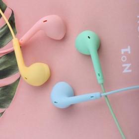 有线耳机入耳式手机电脑通用圆孔