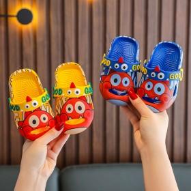 宝宝凉拖鞋夏男女童卡通小童婴幼儿护趾防撞透气1-3