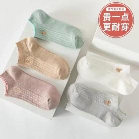 2021薄款2021薄款浅口甜美短筒袜子可爱日系透