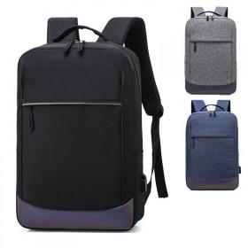 商务双肩包休闲笔记本电脑包可手提男女旅行双肩背包