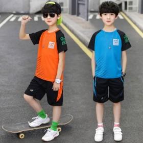 男童速干衣运动套装夏季