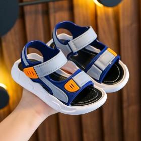 儿童凉鞋男童夏软底防滑学生防水休闲沙滩鞋
