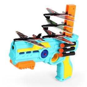 儿童玩具枪抖音网红同款飞机软弹枪弹射