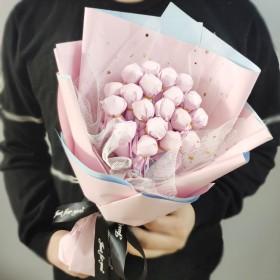 19颗马卡龙糖果花束【不含赠品】