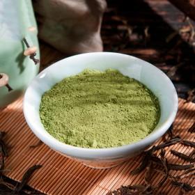 纯绿茶粉500克冲饮食用面膜商用奶茶店烘焙肠排