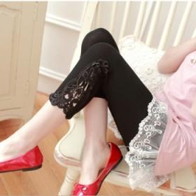 大码孕妇裤夏季薄款孕打底裤子贴身中裤外穿弹力七分