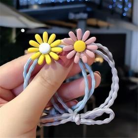 【F2638】6个精美小雏菊发圈