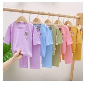 宝宝夏季套装儿童家居服空调服