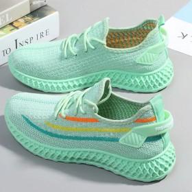 女鞋2021新款春秋单鞋网面运动鞋夏季运动鞋女学生