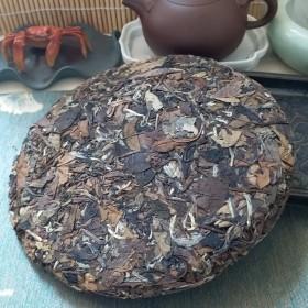 试喝整饼求平价七年珍藏枣香寿眉药香高山甜白茶饼