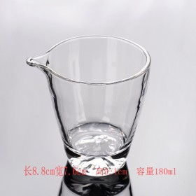 玻璃杯玻璃公杯玻璃分茶器