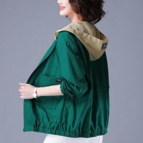 防晒衣女夏季韩版防晒服网红薄款短款外套长袖上衣