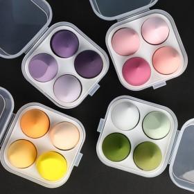 美妆蛋鸡蛋盒套装4个装葫芦水滴彩妆蛋