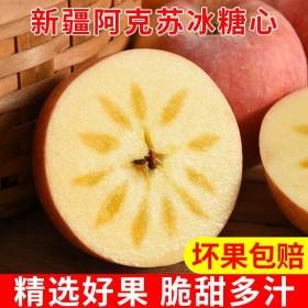 10斤装新疆阿克苏冰糖心苹果新鲜水果红富士苹果正宗