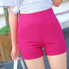 短裤女夏季薄款弹力运动安全裤打底裤外穿高腰防走光