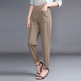 七分九分哈伦裤韩版休闲裤薄款灯笼裤