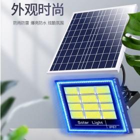 太阳能灯家用庭院灯室内led光控户外投光灯太阳能照