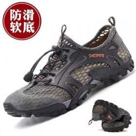 夏季透气运动男网鞋韩版时尚休闲防臭镂空大网眼鞋耐磨