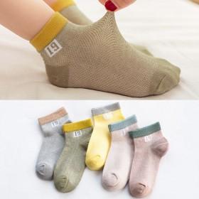 儿童袜子薄款女童袜中大童棉袜女孩短筒船袜中筒袜