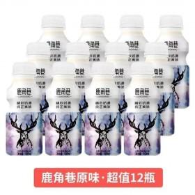 12瓶鹿角巷乳酸菌风味饮品饮料