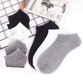 男女船袜短袜运动袜夏季薄款男女防臭吸汗薄款学生百搭