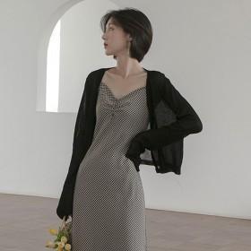 薄款冰丝针织防晒衣女空调衫短款披肩