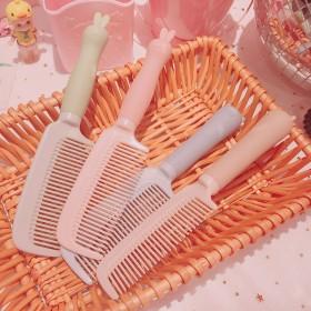 梳子可爱学生韩版卡通少女塑料梳子女宿舍用品