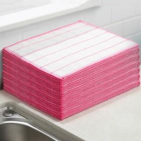30片 棉抹布棉纱洗碗布