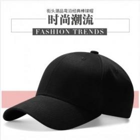 时尚纯棉黑色棒球帽帽子遮阳帽鸭舌帽
