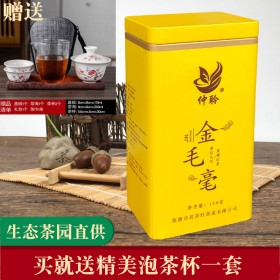 英德红茶英红九号金毛毫仲聆牌英红9号广东名茶生态茶