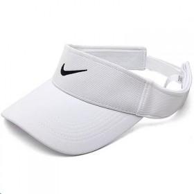 耐克标空顶帽男女夏遮阳网球太阳帽运动鸭舌帽户外运动