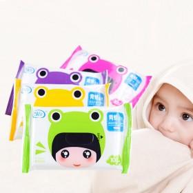 婴儿成人通用湿巾小包便携10片装儿童宝宝手口清洁